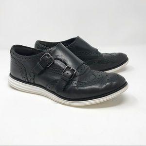 Cole Haan Original Grand Double Monk Oxford Shoes